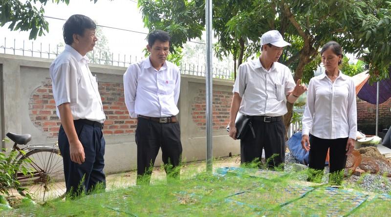 Từ 25 triệu đồng vốn vay hộ nghèo, gia đình bà Nguyễn Thị Ninh (thôn Chanh Chử 2, xã Thắng Thủy) phát triển sản xuất hiệu quả, vươn lên thoát nghèo.