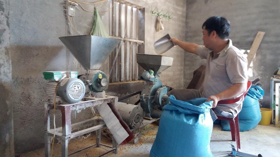 Nhờ đồng vốn chính sách, anh Nguyễn Văn Đủ dần ổn định cuộc sống