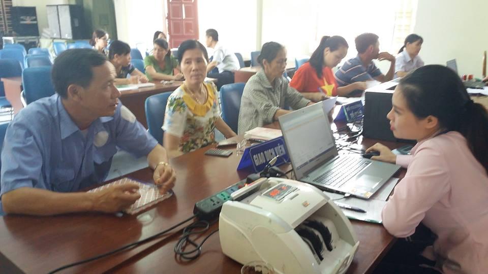 Một buổi giao dịch tại xã Đồng Bài, huyện Cát Hải