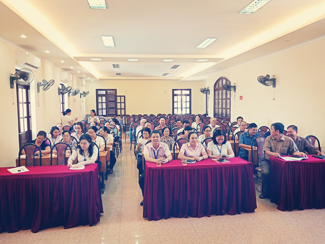 Quang cảnh hội nghị tập huấn nghiệp vụ cho vay ưu đãi để mua, thuê mua nhà ở xã hội